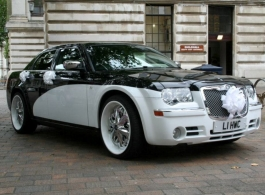 Chrysler 300c for wedding hire in Fareham